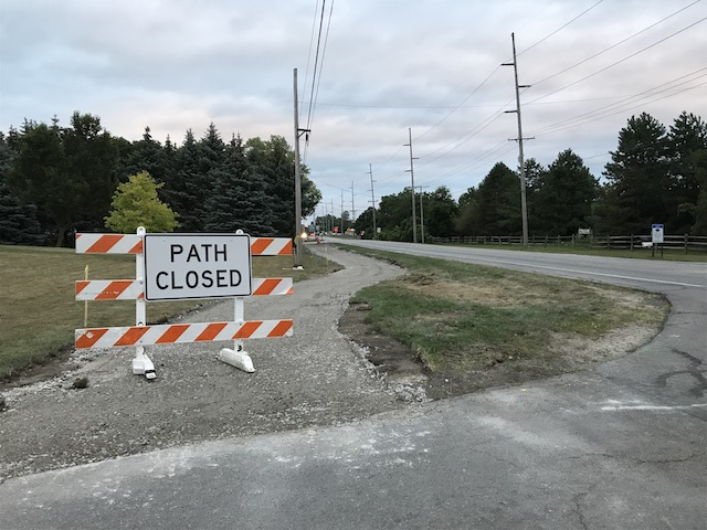 Sylvania-Metamora Trail Construction